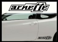 ARNETTE CAR BODY DECALS